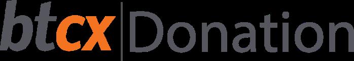 BTCX Donations logo